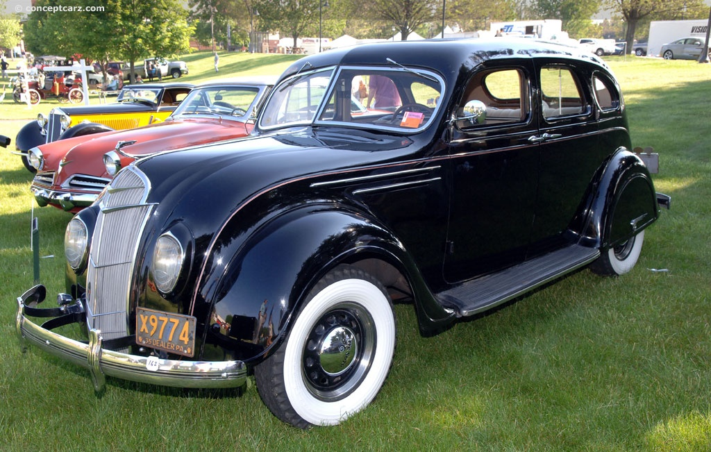 1935 Desoto Airflow Pictures History Value Research News