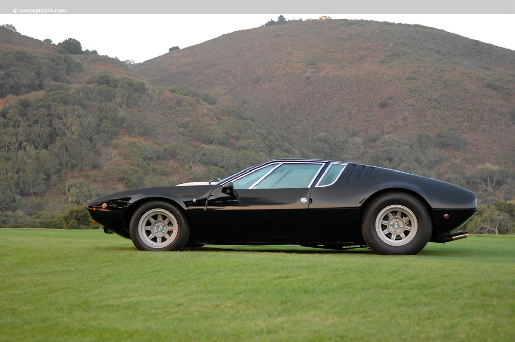 Auction Results and Sales Data for 1969 DeTomaso Mangusta