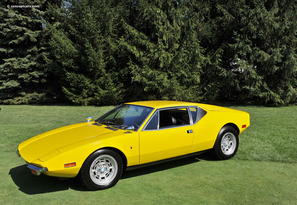 1971 Detomaso Pantera At The Concours D Elegance Of
