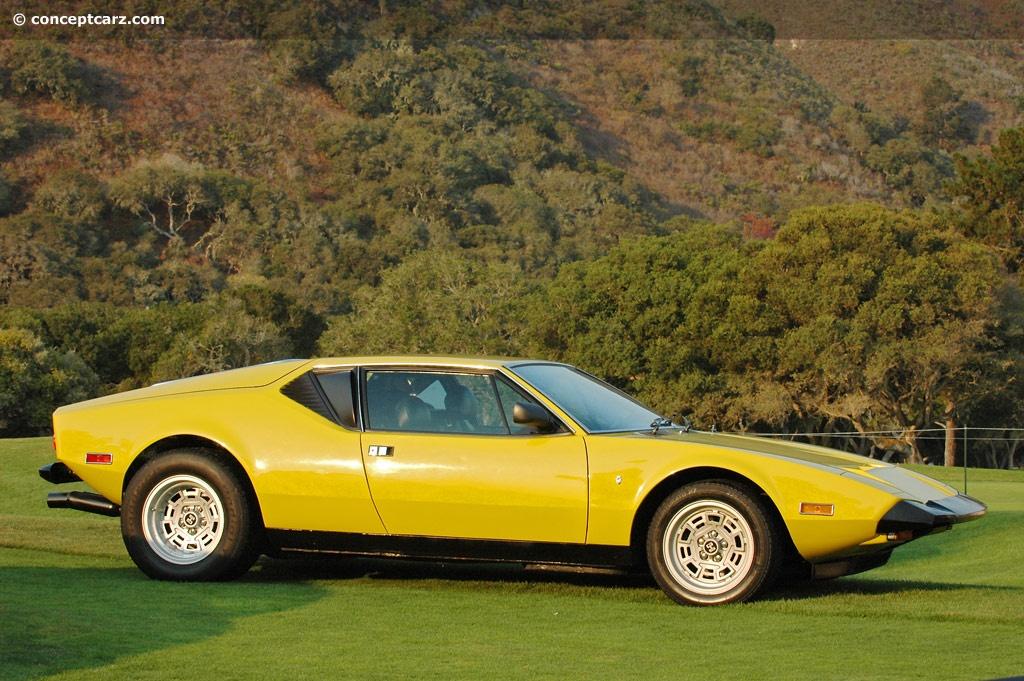 1972 Detomaso Pantera History Pictures Value Auction