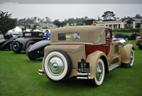 1931 Delage D8.  Chassis number 33321