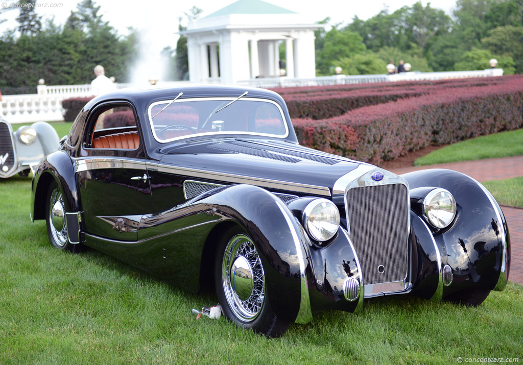 1937 Delage D8 120 At The The Elegance At Hershey