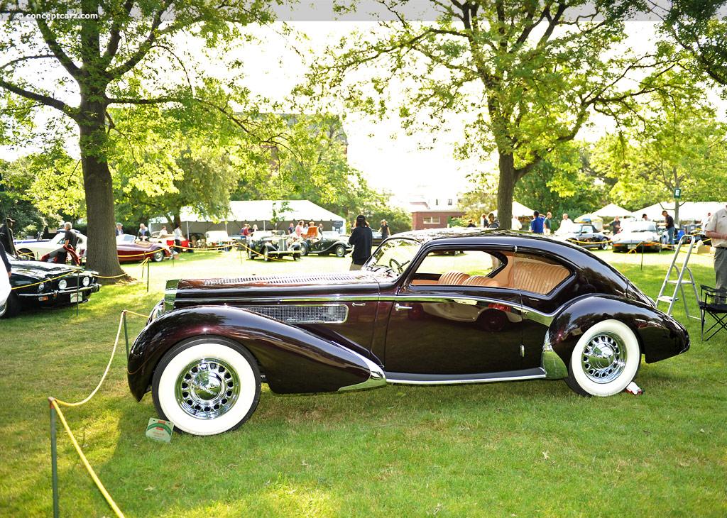 1938 Delage D8-120 Ima...