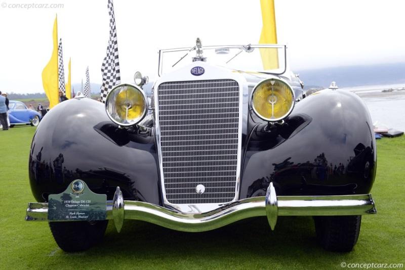 1938 Delage D8-120