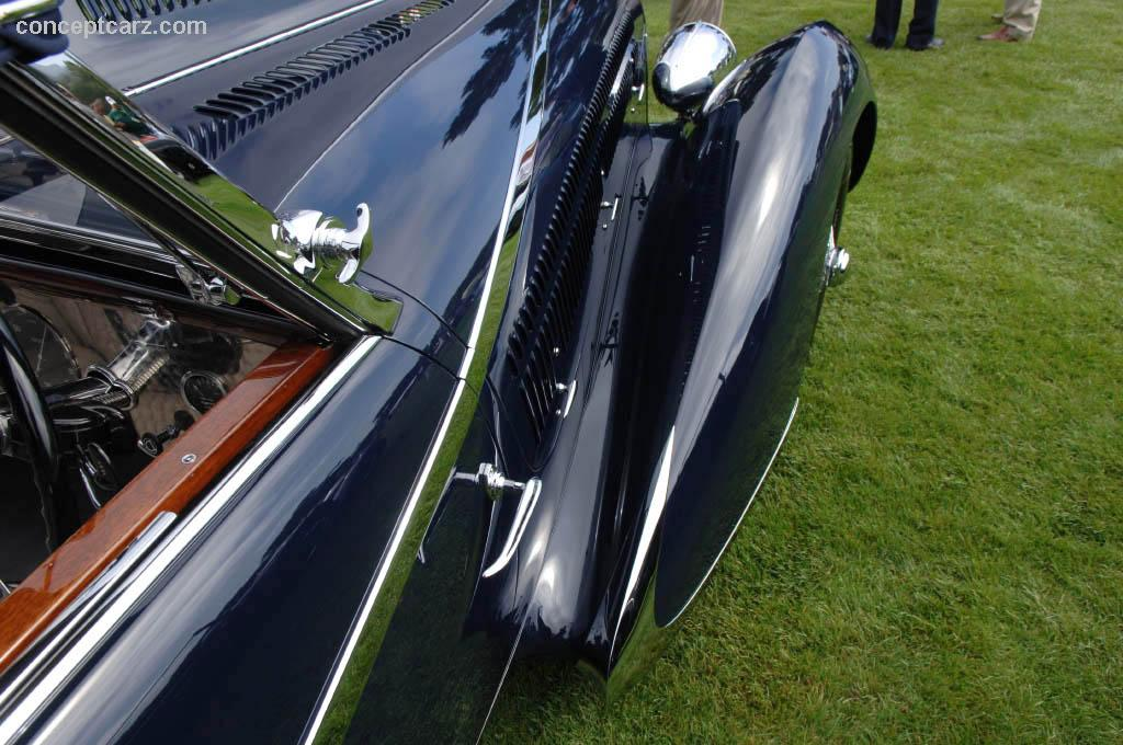 1936 Delahaye Type 135 Image Chassis Number 46864