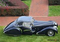 1936 Delahaye Type 135.  Chassis number 46864