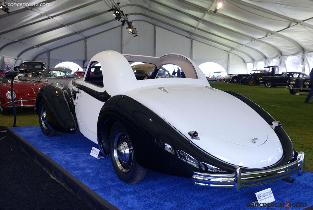 1937 Delahaye 135m Image Chassis Number 47633