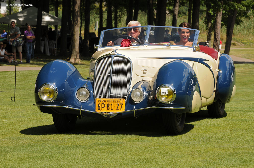 1939 delahaye type 135 m image chassis number 48667