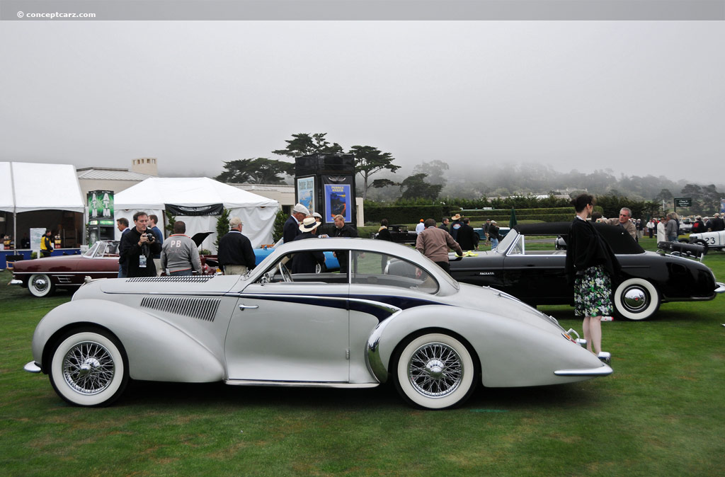 1947 Delahaye 135 Ms Image Chassis Number 800490