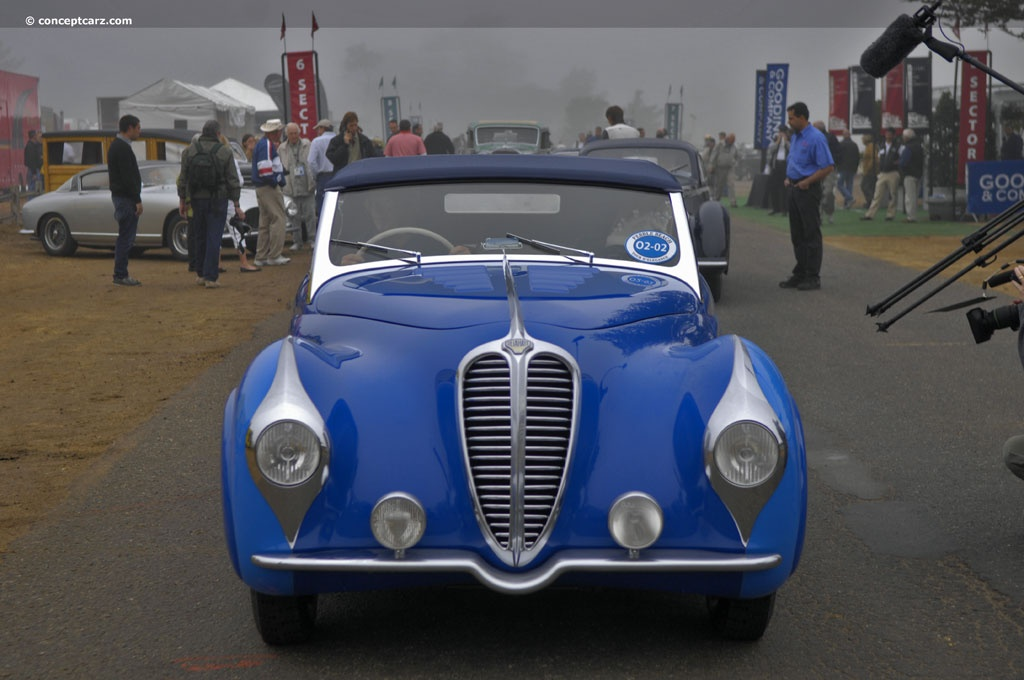 1948 Delahaye 135 Ms At The 58th Annual Pebble Beach Concours D Elegance