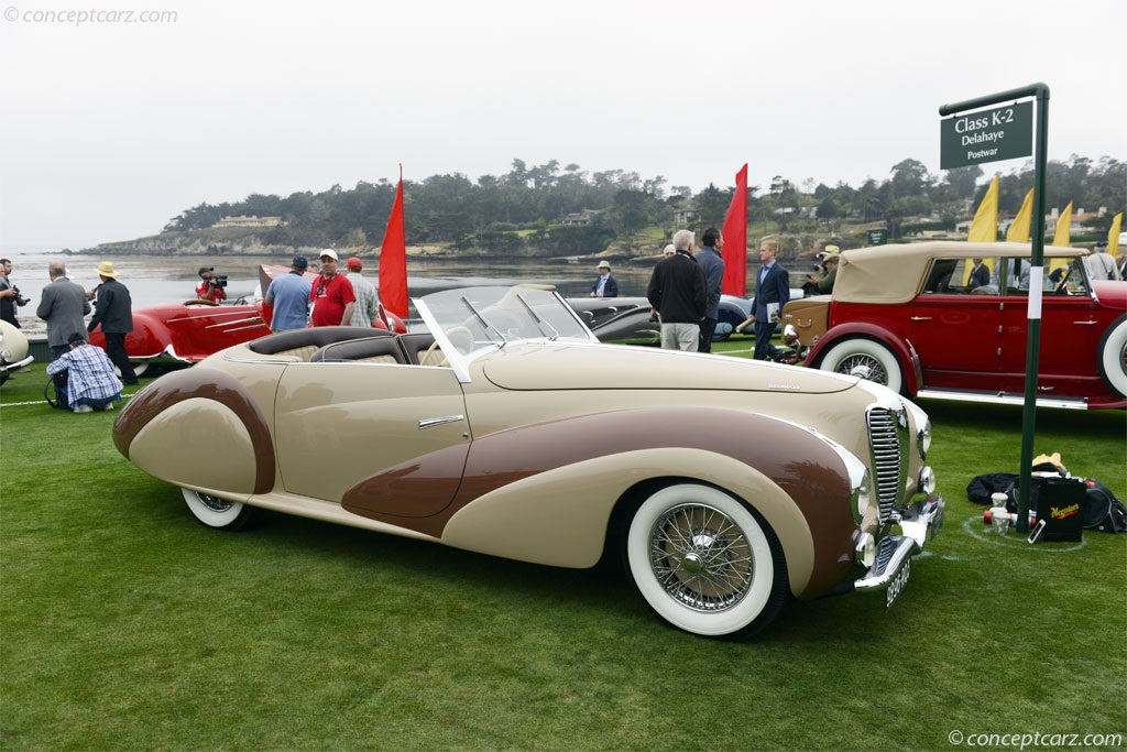 1948 Delahaye 135 M Image Chassis Number 800745