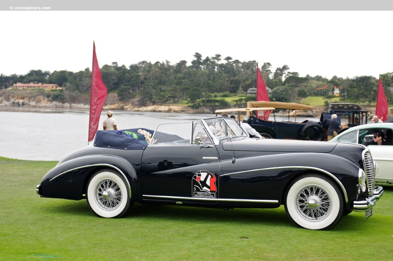 1950 Delahaye 135m Image Chassis Number 801636
