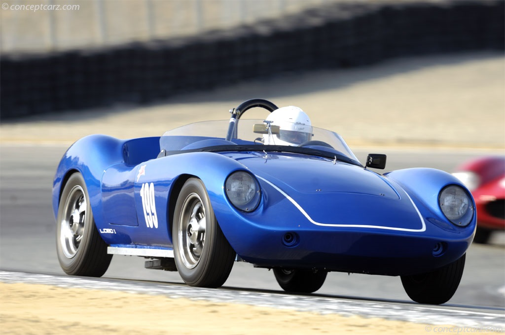 1960 Devin D Image. Chassis number dd1-4