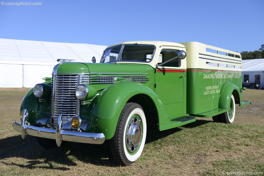 1950s Ford Trucks For Sale >> 1934 Diamond T 406 History, Pictures, Value, Auction Sales, Research and News
