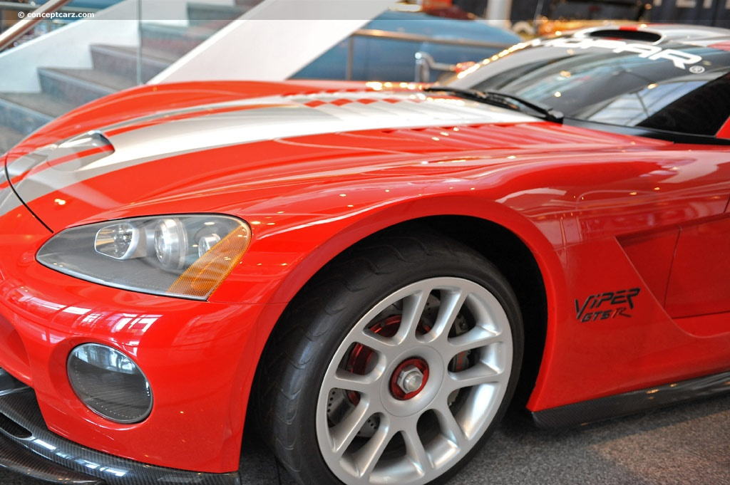2000 Dodge Viper GTS-R Concept At The Walter P. Chrysler Museum