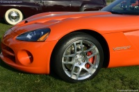 2008 Dodge Viper SRT10.  Chassis number 1B3JZ65Z48V201369