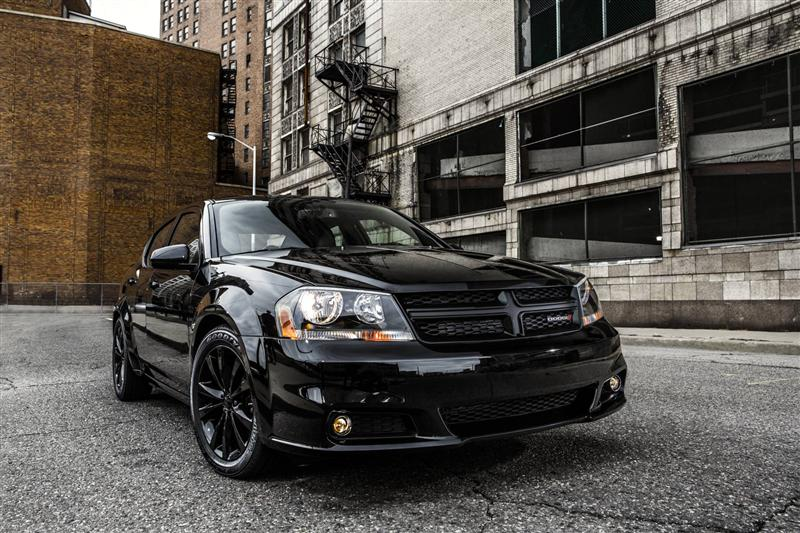 2013 Dodge Avenger Blacktop News and Information