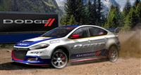 2013 Dodge Dart Rally Car image.