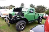 1947 Dodge Power Wagon.  Chassis number 8B750709