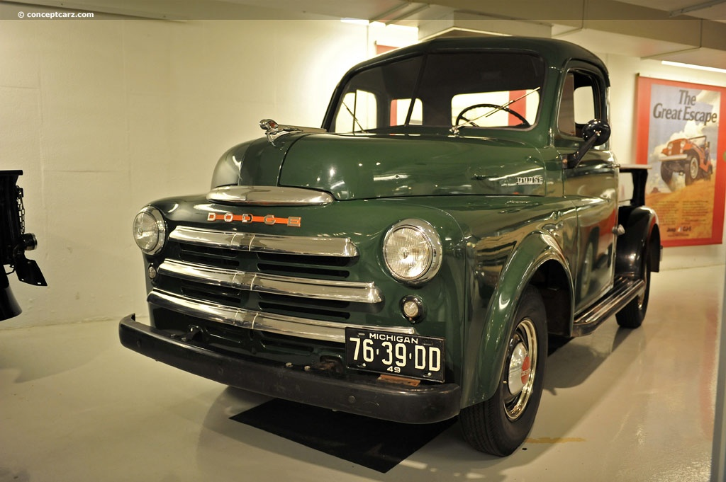 Auction Results and Sales Data for 1949 Dodge Half-Ton Pickup