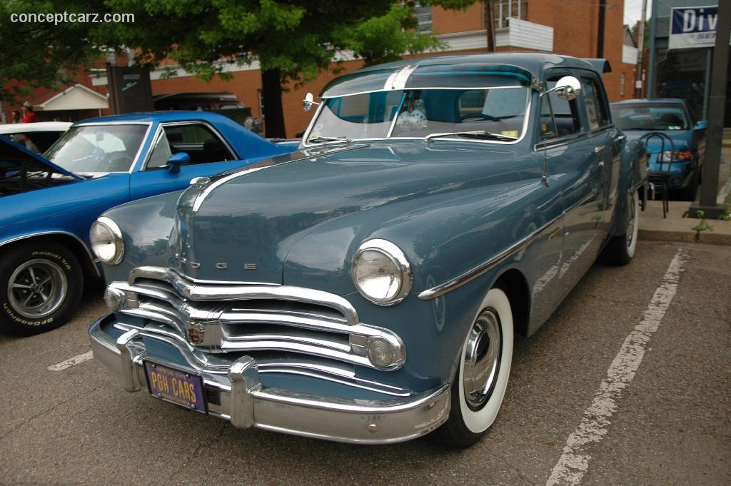 Dodge B Series >> 1949 Dodge Coronet History, Pictures, Sales Value, Research and News