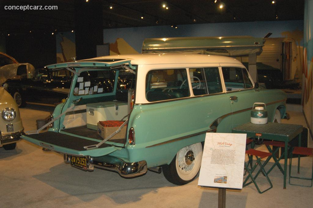 1954 Dodge Coronet Sierra Wagon History, Pictures, Value ...