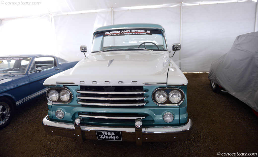 1958 Dodge D-100 Sweptside
