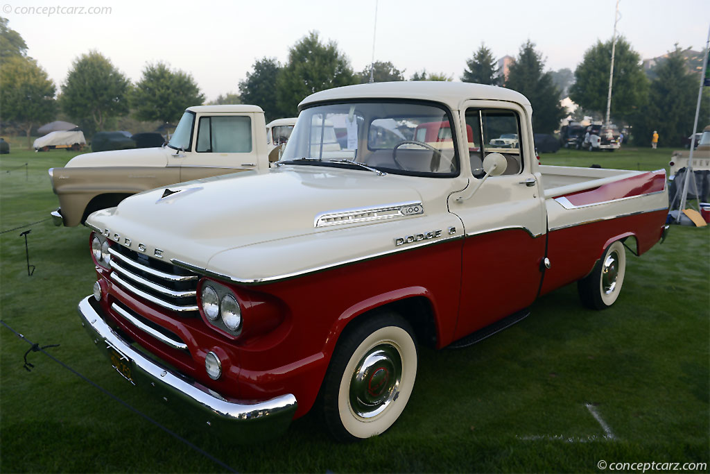 1958 Dodge D 100 Sweptside Image