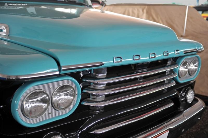 1958 Dodge D-100 Sweptside