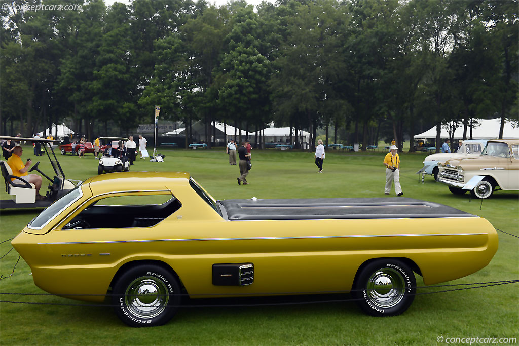 1965 Dodge Deora Concept Image Chassis Number 1862015066z