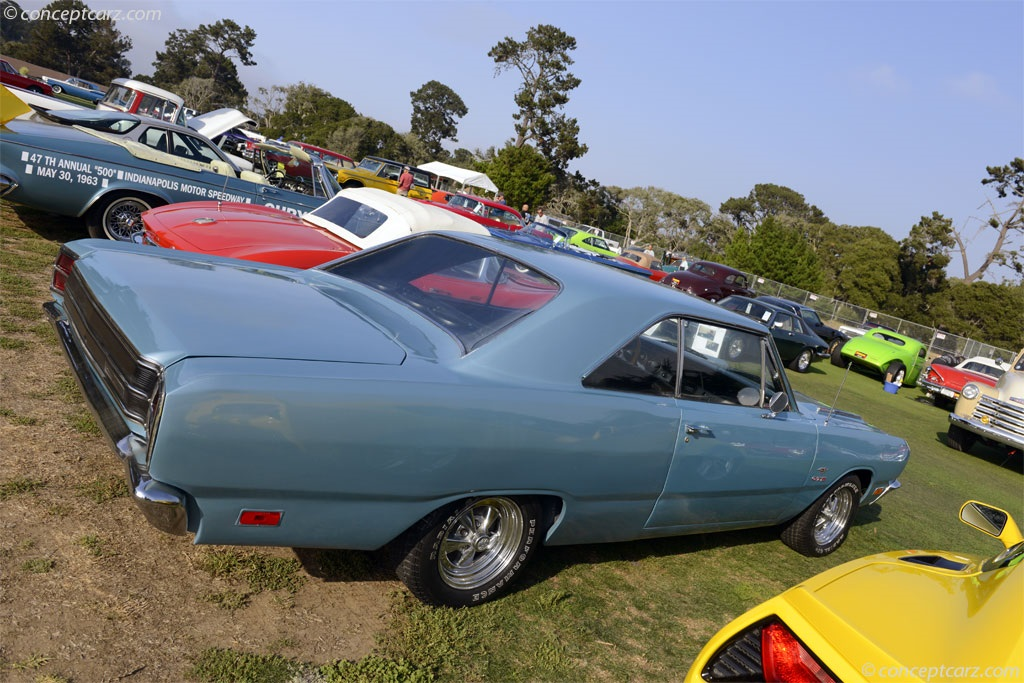 1969 Dodge Dart.  Chassis number T9112852