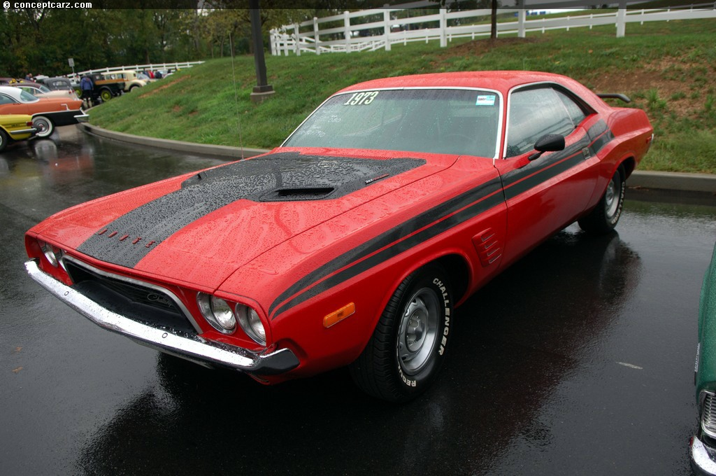 Dodge Challenger 2007 >> Auction results and sales data for 1973 Dodge Challenger - conceptcarz.com