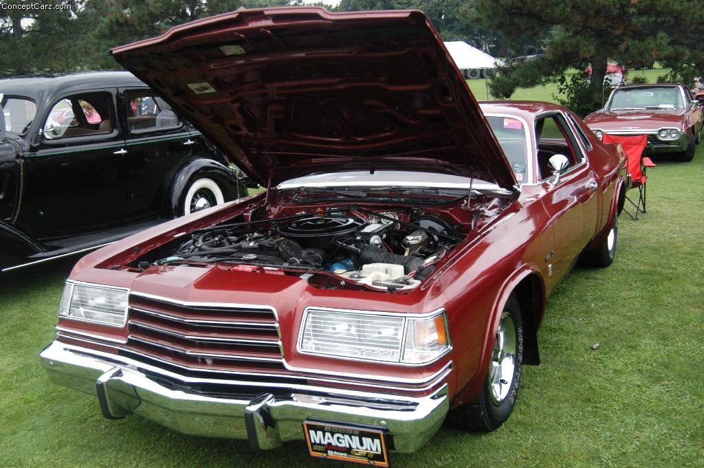 Dodge Magnum Pvgp Dv