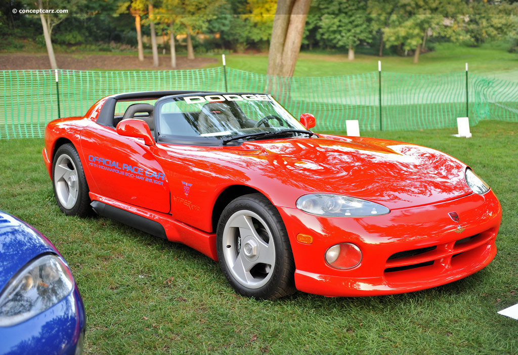 1992 Dodge Viper RT/10 History, Pictures, Sales Value, Research and