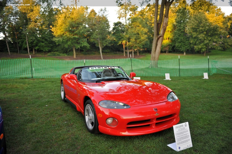 1992 Dodge Viper Rt10 Chassis Information