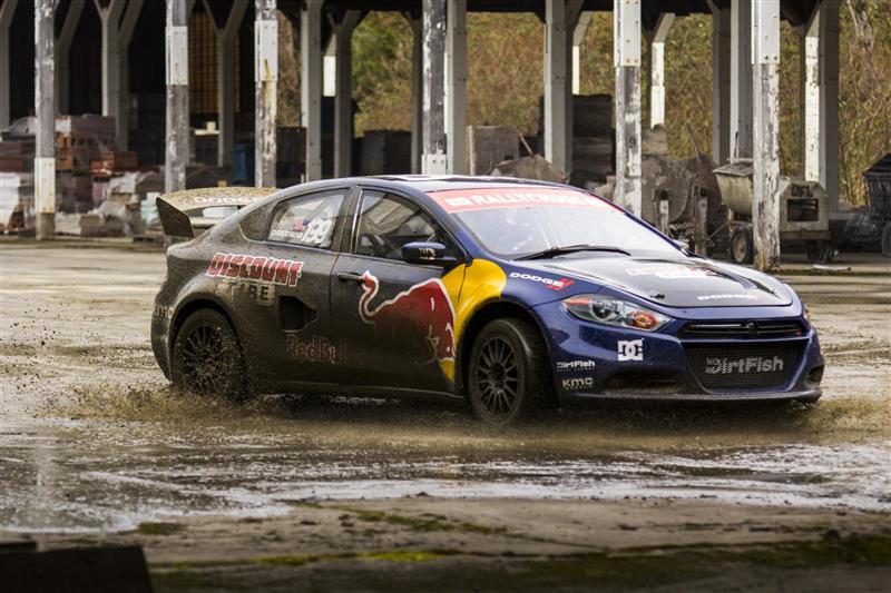 2013 Dodge Dart Srt Rallycross Image Photo 6 Of 6