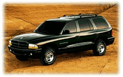 2000 Dodge Durango SLT pictures and wallpaper