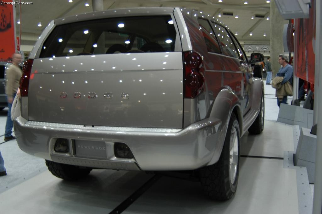 Auction Results and Sales Data for 2001 Dodge PowerBox Concept