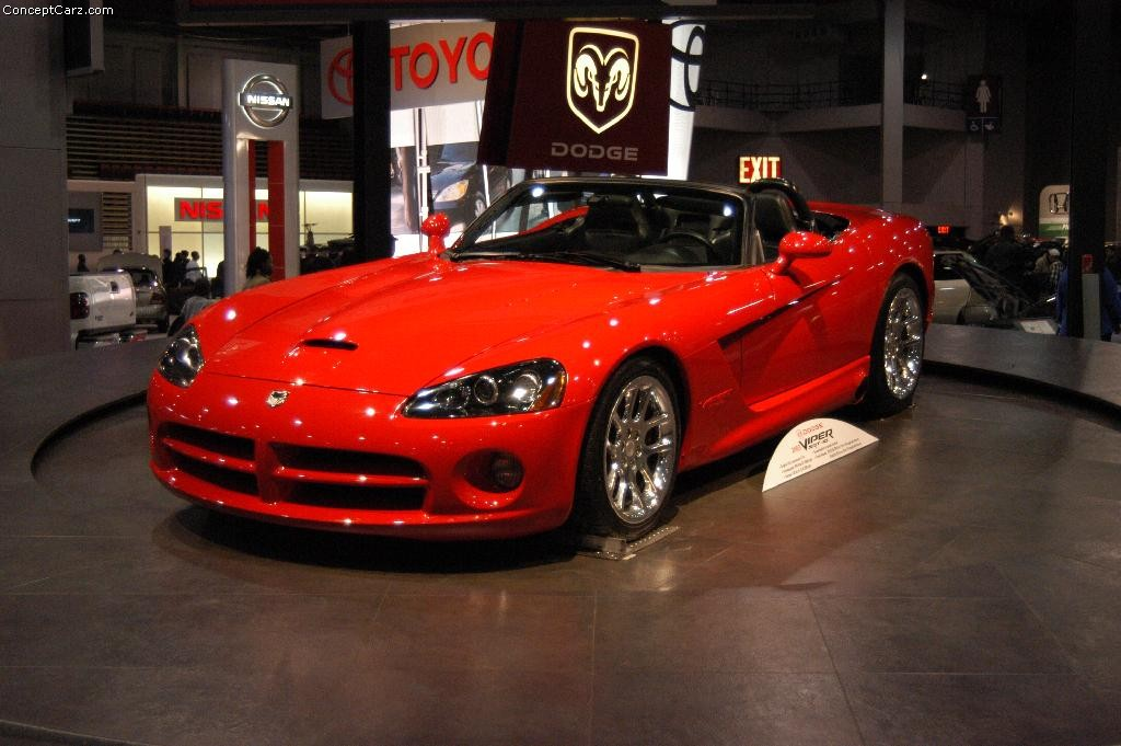 Dodge Viper Red Dc W on 2007 Dodge Ram 3500