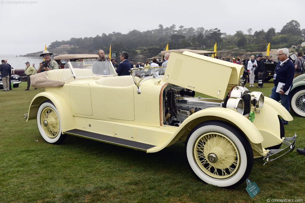 1922 Duesenberg Model A Image Chassis Number 603