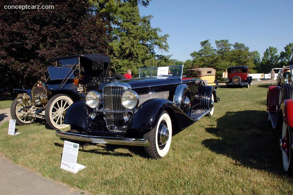 1929 Duesenberg Model Sj Image Chassis Number 2268