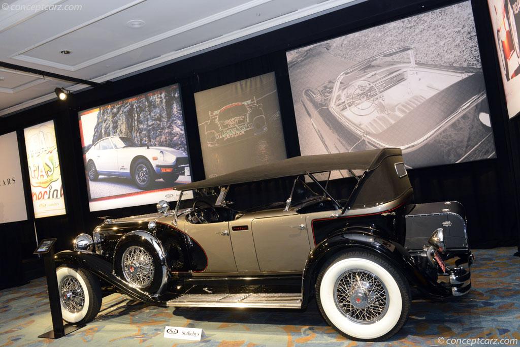 1930 Duesenberg Model J Image Chassis Number 2336