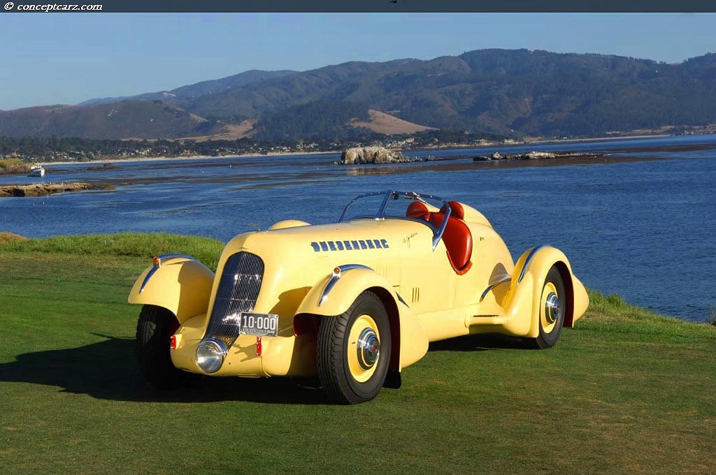 1935 Duesenberg Model Sj Special Mormon Meteor At The