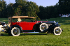 Chassis information for Duesenberg Model J LeBaron