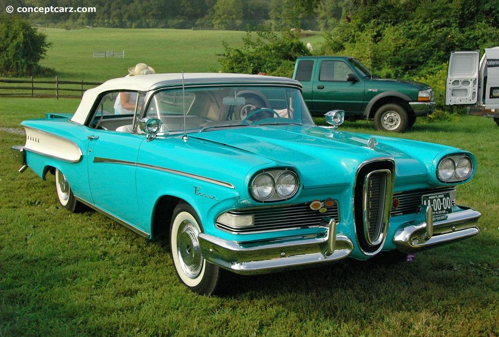 1958 Edsel Pacer Series B Image