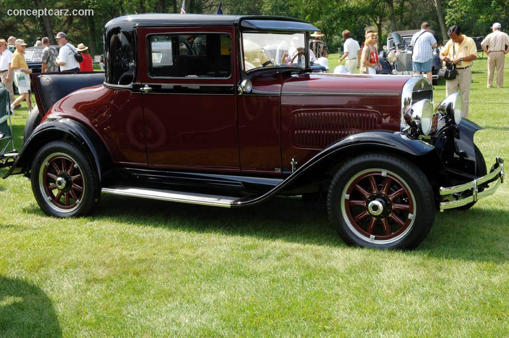 1930 Essex Challenger Six Coupe History Pictures Sales