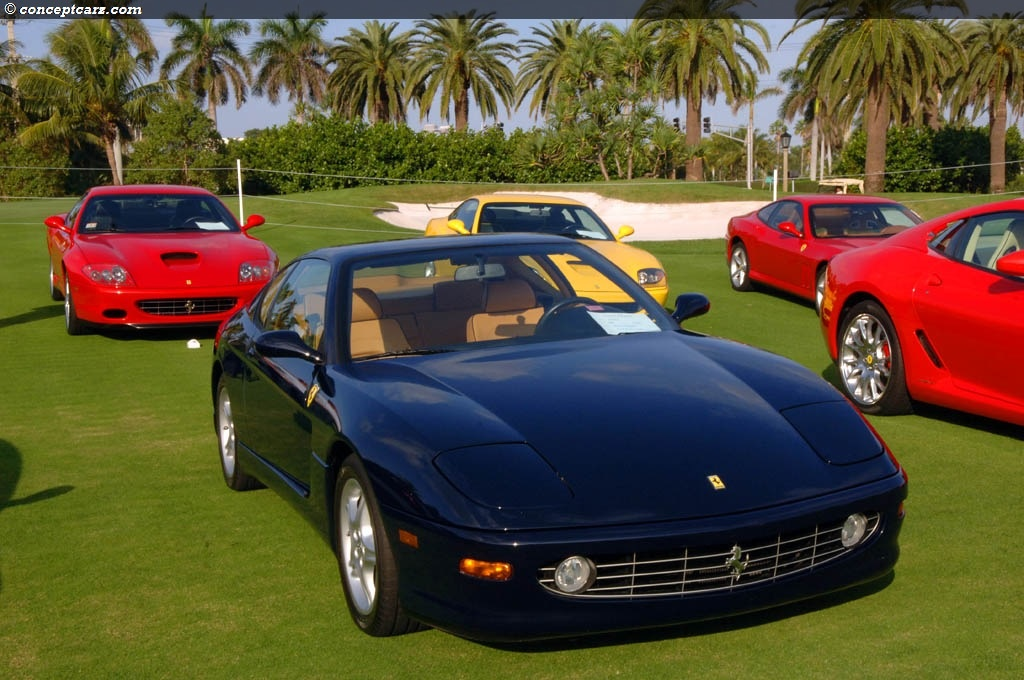2000 ferrari 456m gt pictures history value research news. Black Bedroom Furniture Sets. Home Design Ideas