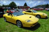 2001 Ferrari 550 Spider image.