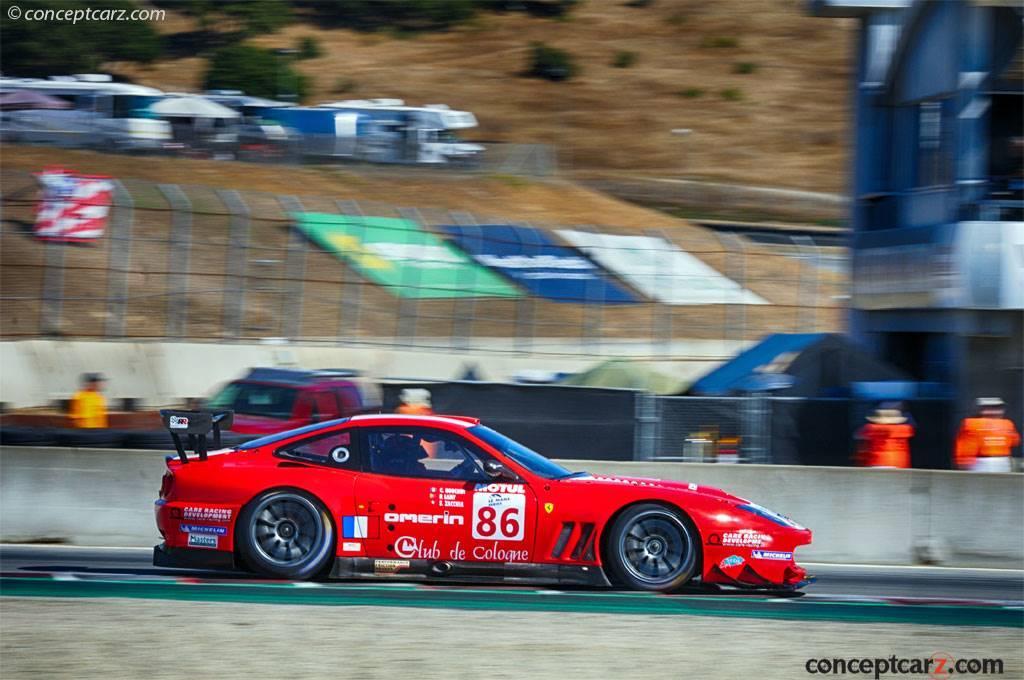 2002 Ferrari 550 GTS Maranello