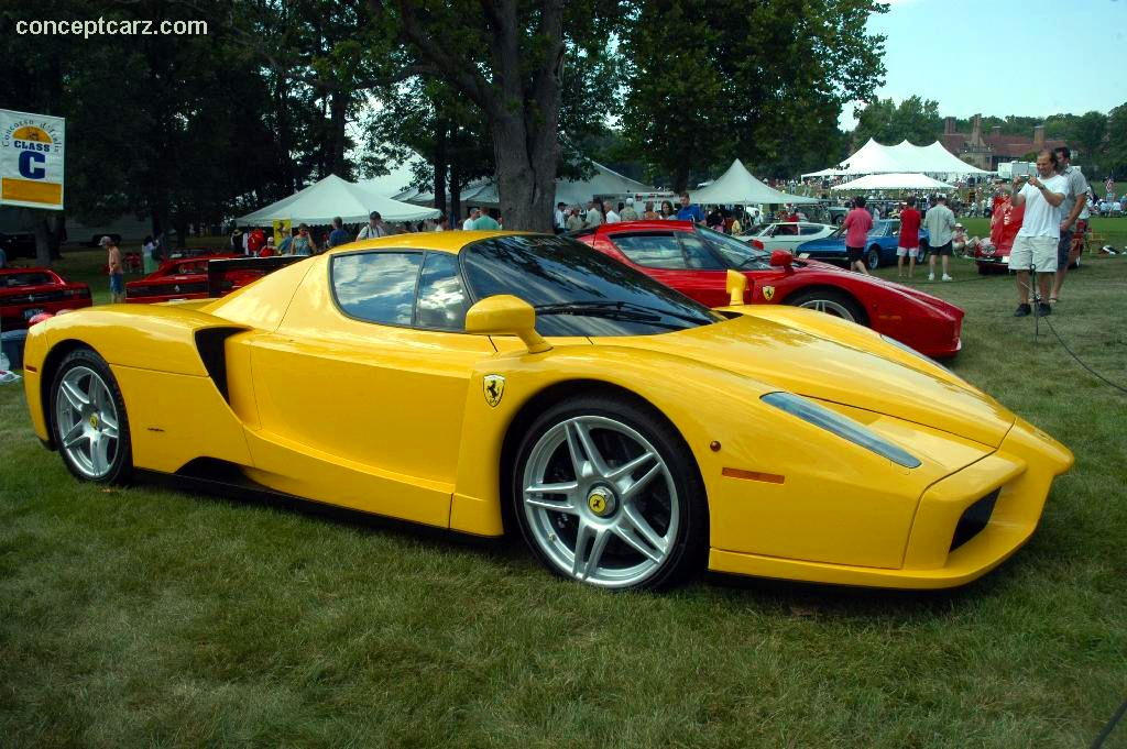 Auction Results and Sales Data for 2003 Ferrari Enzo